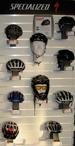 casques specialized chez s'bike cycles